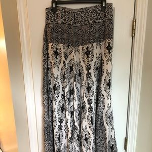 Free People strapless maxi dress, size M, EUC